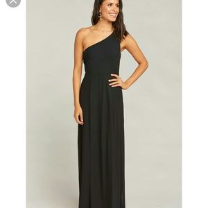Show Me Your Mumu Eliza One Shoulder Maxi Dress